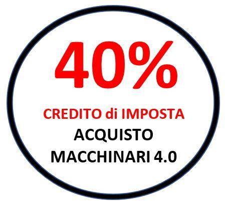 CdI40% MACCHINARI 4.0